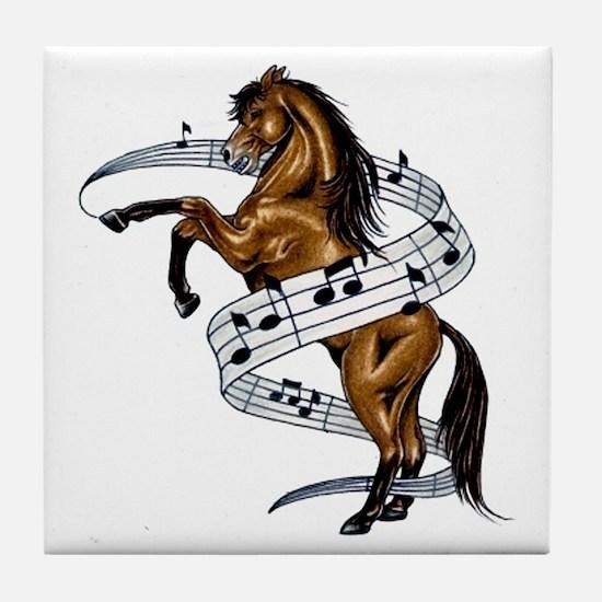 Unique Horses Tile Coaster