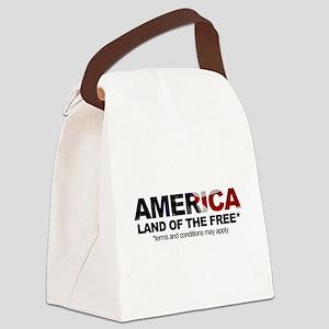 am3x5 Canvas Lunch Bag