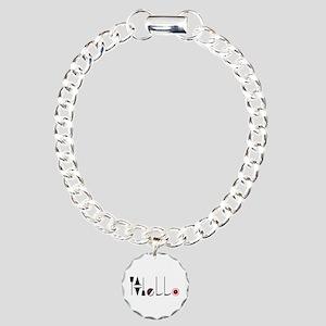 Hello Charm Bracelet, One Charm