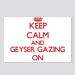 Keep calm and Geyser Gazi Postcards (Package of 8)