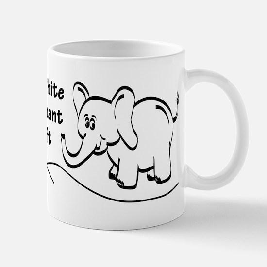 My White Elephant Gift Signature Mug Mugs