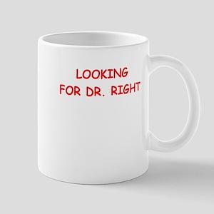 dr right Mugs