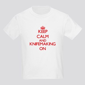 Keep calm and Knifemaking ON T-Shirt