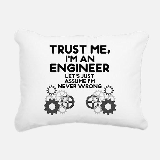 Trust me, I'm an Engineer Funny Rectangular Canvas