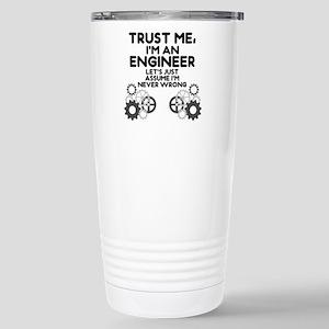 Trust me, I'm an Engineer Funny Travel Mug