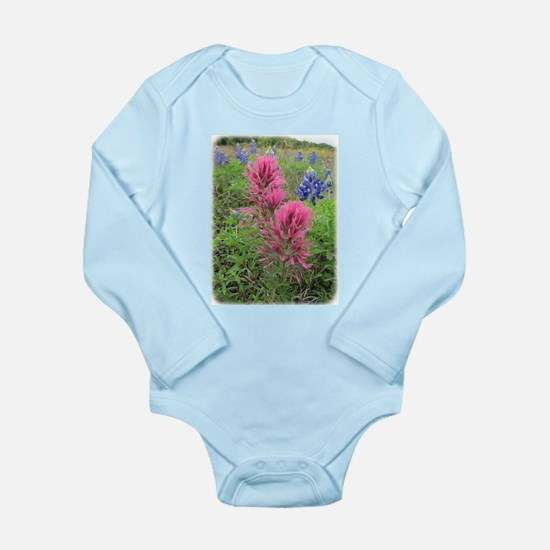 Downy Paintbrush and Bluebonnets Body Suit