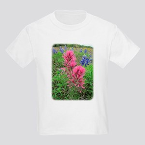 Downy Paintbrush and Bluebonnets T-Shirt