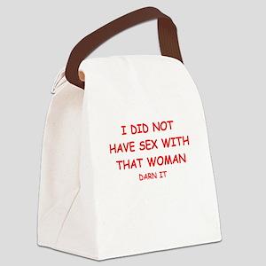sex joke Canvas Lunch Bag