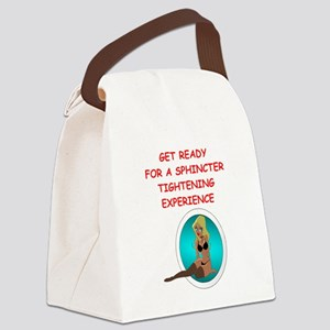 ecstacy Canvas Lunch Bag