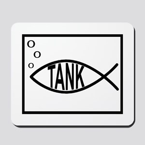 fish tank Mousepad