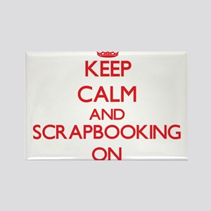 Keep calm and Scrapbooking ON Magnets