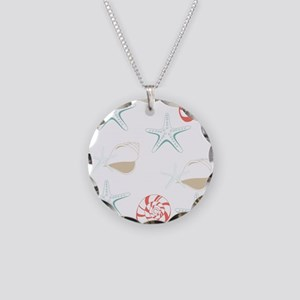 Starfish Seashells Pattern Necklace