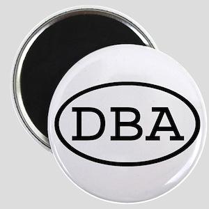 DBA Oval Magnet