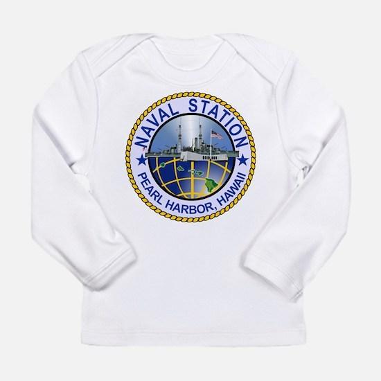 Naval Station Pearl Harbor Long Sleeve T-Shirt