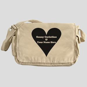 Sonny Corinthos and Your Name Messenger Bag