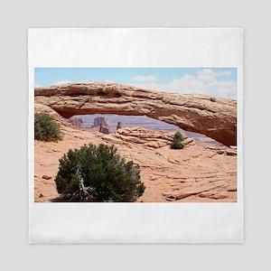Mesa Arch, Canyonlands National Park, Queen Duvet