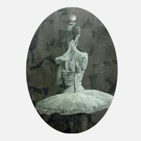 Backstage Ornament (Oval)