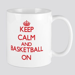 Keep calm and Basketball ON Mugs