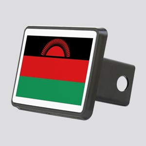 malawi flag Rectangular Hitch Cover