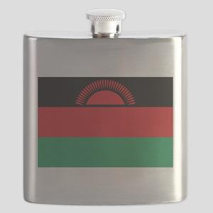 Malawi flag gift Flask