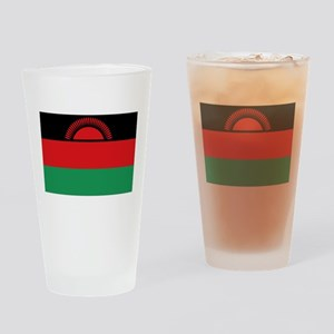 Malawi flag gift Drinking Glass