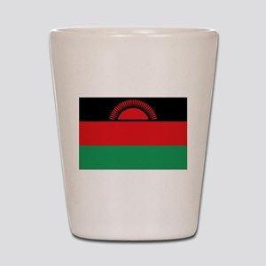 Malawi flag gift Shot Glass