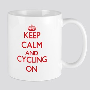 Keep calm and Cycling ON Mugs