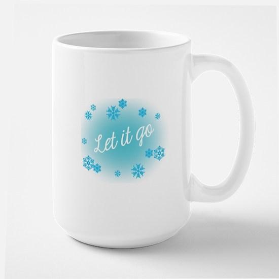 Let it go Large Mug