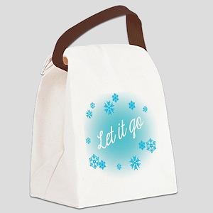 Let it go Canvas Lunch Bag
