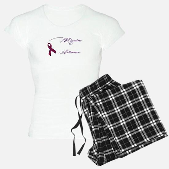 Migraine Awareness Spoons Pajamas