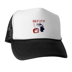 Death to Television Trucker Hat