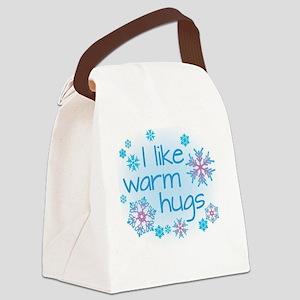 I like warm hugs Canvas Lunch Bag