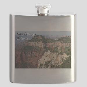 Grand Canyon, Arizona (with caption) Flask