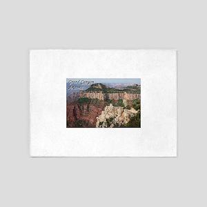 Grand Canyon, Arizona (with caption 5'x7'Area Rug