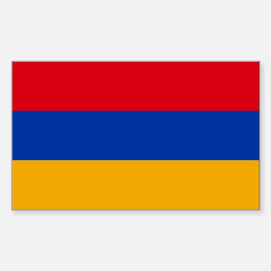 Armenia Flag Sticker (Rectangle)