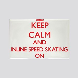 Keep calm and Inline Speed Skating ON Magnets