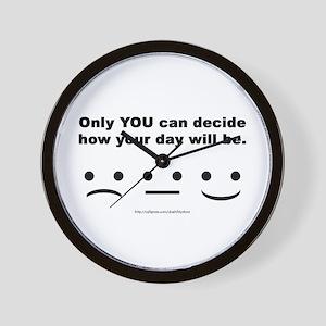 You Decide Wall Clock