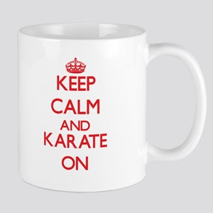Keep calm and Karate ON Mugs
