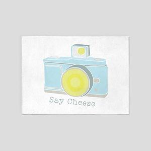 Say Cheese 5'x7'Area Rug