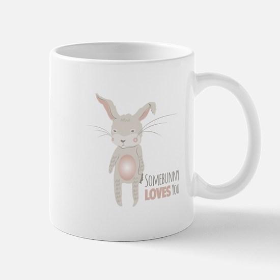 Somebunny Loves You Mugs