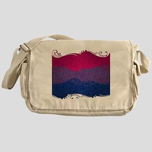 Bisexual Ornamental Flag Messenger Bag