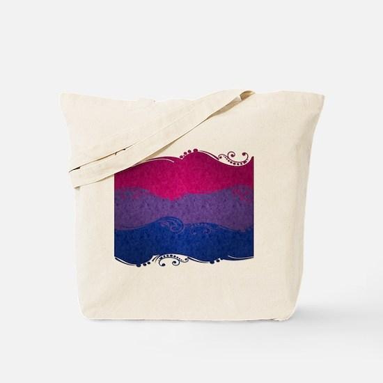 Bisexual Ornamental Flag Tote Bag