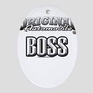 original boss Ornament (Oval)