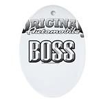original boss Ornament (Oval)