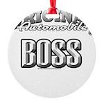 original boss Round Ornament