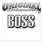 original boss Square Car Magnet 3
