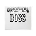 original boss Throw Blanket