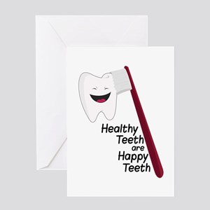 Healthy Teeth Greeting Cards