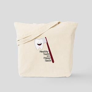 Healthy Teeth Tote Bag