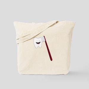 Brush Teeth Tote Bag